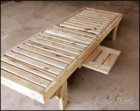 Diy Chaise Lounge Dittle Dattle Diy Chaise Lounge Chairs Garden Backyard Pinterest