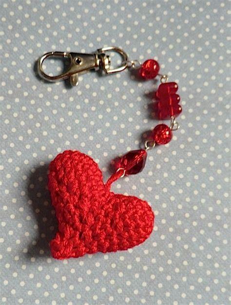 crochet heart pattern keychain 25 best ideas about crochet keychain pattern on pinterest