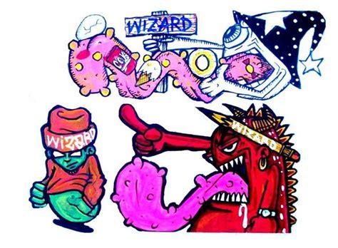 Graffiti Stickers By Wizard