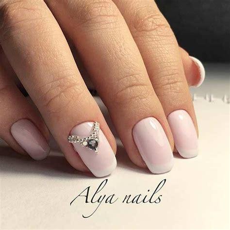 Gel Nail Wedding Designs