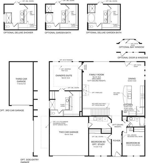 sullivan floor plan new single family homes cincinnati oh sullivan fischer homes builder
