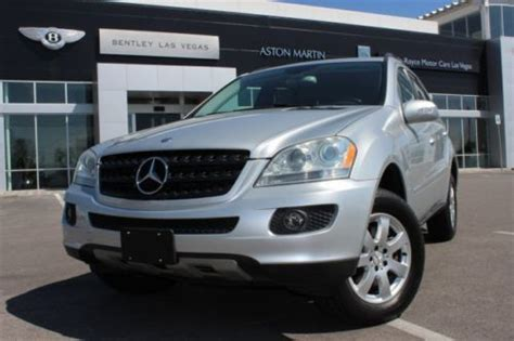 how make cars 2006 mercedes benz m class electronic valve timing purchase used 2006 mercedes benz m class ml350 silver black in las vegas nevada united states