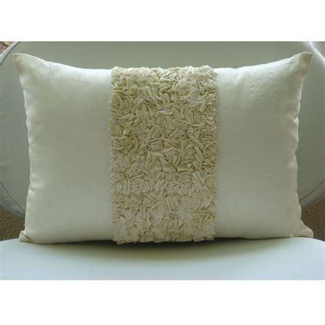 Lumbar Accent Pillow Decorative Oblong Lumbar Throw Pillow Covers Accent Pillow