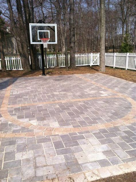 diy backyard basketball court backyard basketball court ideas to help your family become