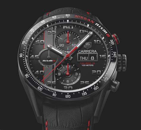 tag heuer first look tag heuer carrera nismo edition the home of