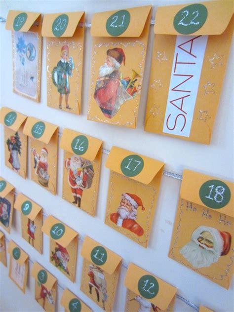 Calendar Envelopes Make An Envelope Advent Calendar Crafts