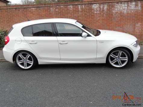 bmw 1 series 57 plate bmw 1 series in white m sport 58 plate immaculate