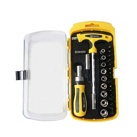 Defni Overall Yellow T3009 2 buy bosi black yellow screwdriver socket tool kit 29