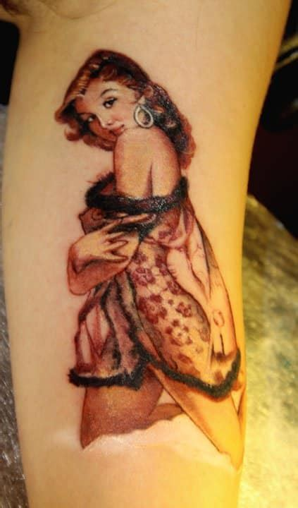 55 Pin Up Girl Tattoo Designs You Will Fall In Love With Today Pin Up Tattoos Designs