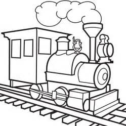 Galerry cartoon train coloring