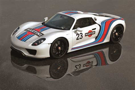 porsche racing porsche 918 spyder to get martini racing livery forcegt com