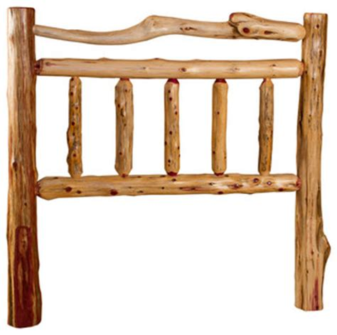 log bed headboards rustic red cedar log full headboard full size rustic