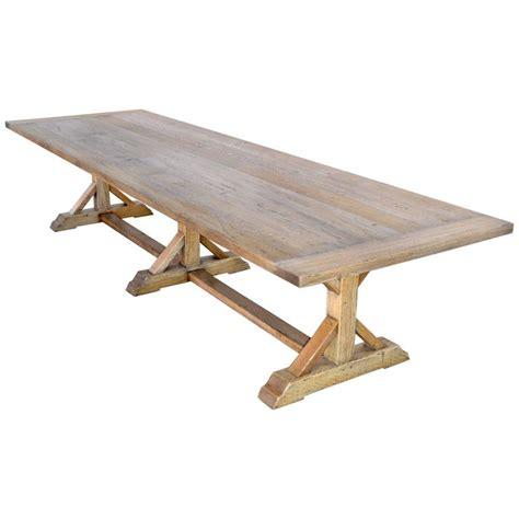 vintage oak farm table for sale at 1stdibs