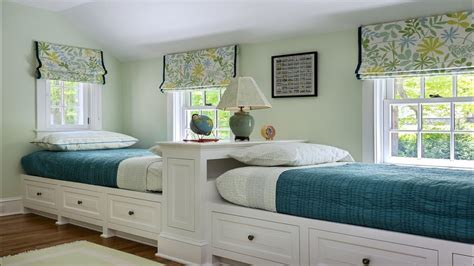 cool twin bedroom design  double bed  teenage room