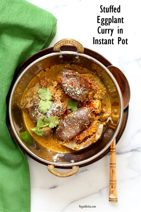 indian instant pot cookbook discover the indian dishes made simple for your pressure cooker books instant pot masala eggplant curry vegan richa