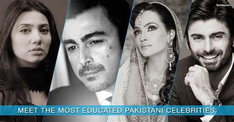 biography of famous personalities of pakistan famous pakistani celebrities and their educational
