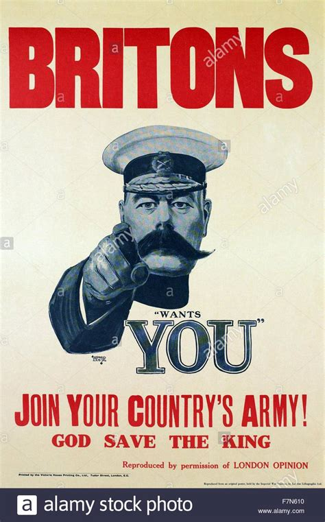 Join Militaty After Mba by War Poster Quot Britons Your King Wants You Join Your