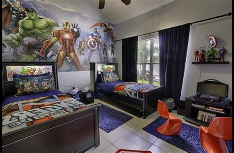 avengers bedroom theme magicalclubhouse com themed disney vacation pool home in