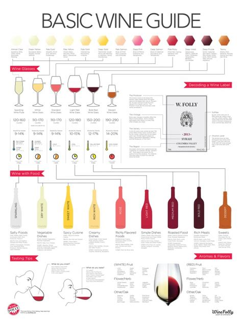 wine pairing the basic knowledge needed to feel confident pairing food and wine books wine folly infographic guide to wines