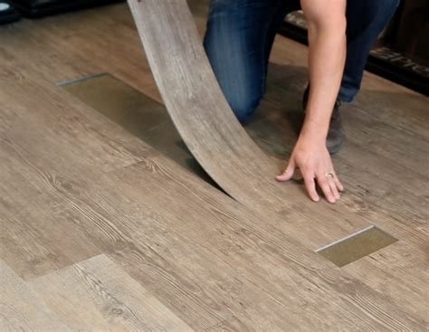 Not only is vinyl plank durable, the ease of installation