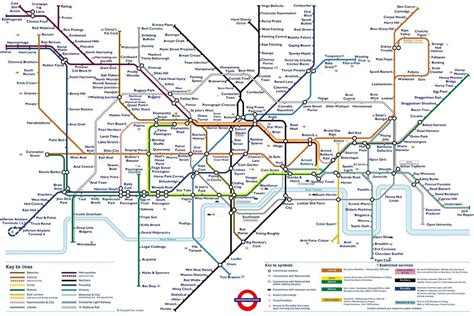 printable version of london tube map try not to be offended by this extremely rude tube map