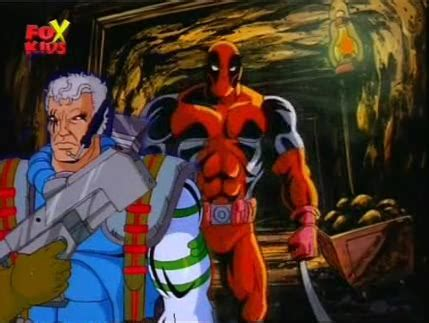 Tas Deadpool cable and deadpool in the 90s