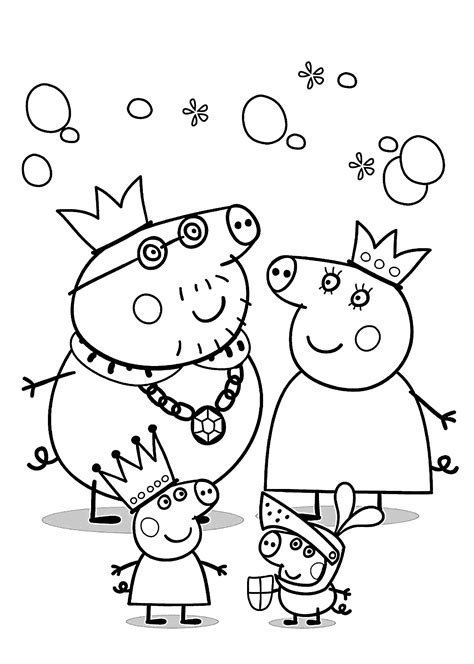peppa pig coloring pages a4 peppa pig coloring pages for kids printable free