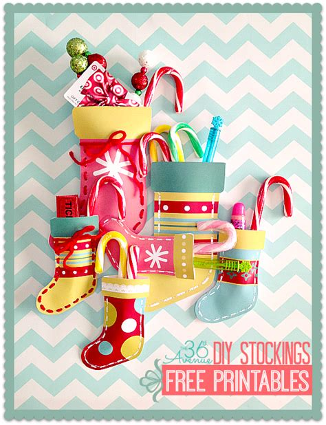 christmas diy decorations printouts diy printable the 36th avenue