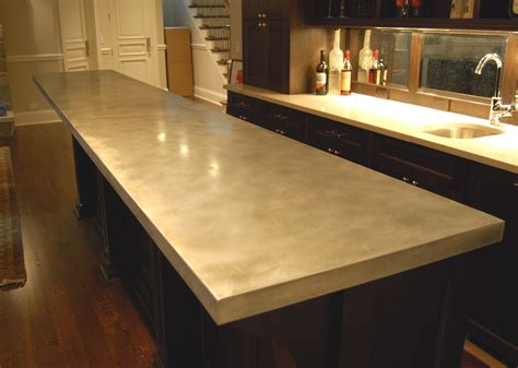 Zinc Bar Tops by Zinc Countertops Custom Metal Home