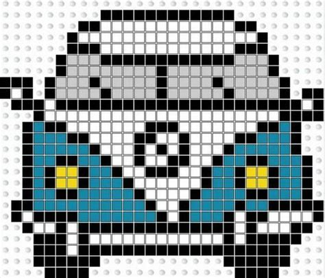 cool beading patterns 20 best vw images on hama bead weaving