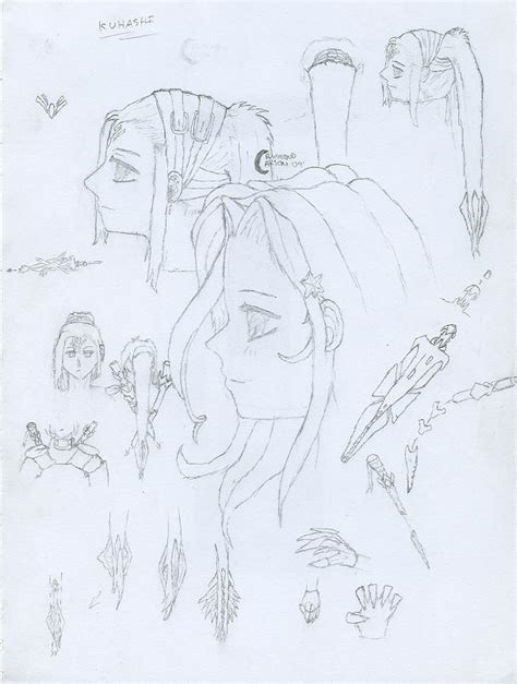 doodle creation kuhashi char creation doodle by thetruecyberneko on