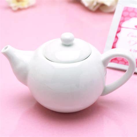 Custom Mini Teapots by Mini Teapot Favors Tea Time Theme Wedding Favors