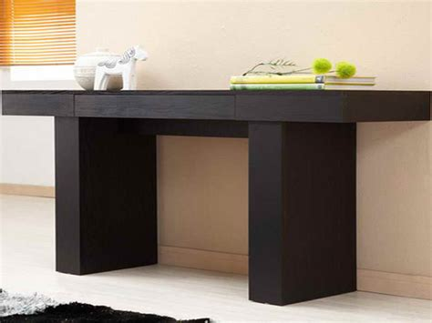 extra long console table for more decoration space