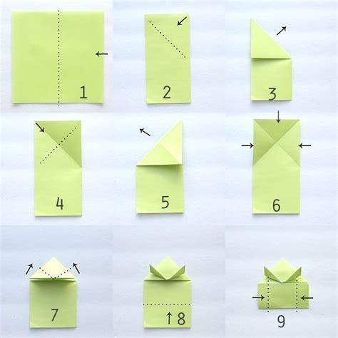 Origami Frog Directions - 25 best ideas about origami frog on easy