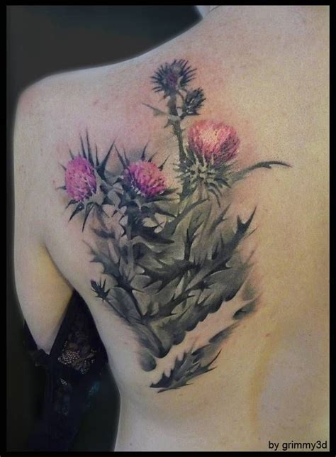 white tattoo manila 48 best thistle tattoos images on pinterest thistles