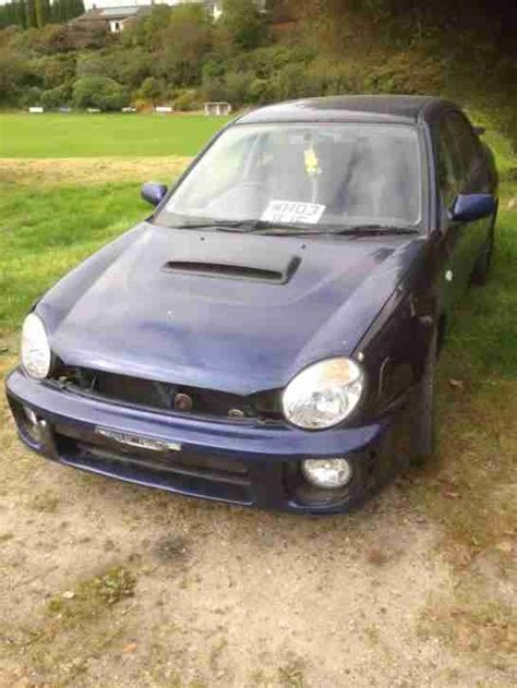 bugeye subaru for sale subaru impreza bugeye 2003 1 6 non turbo mot feb 2017 car