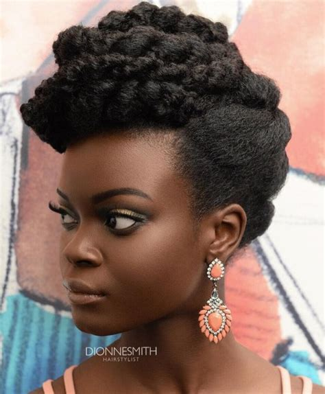 natural hair updo for 50 women 50 cute updos for natural hair