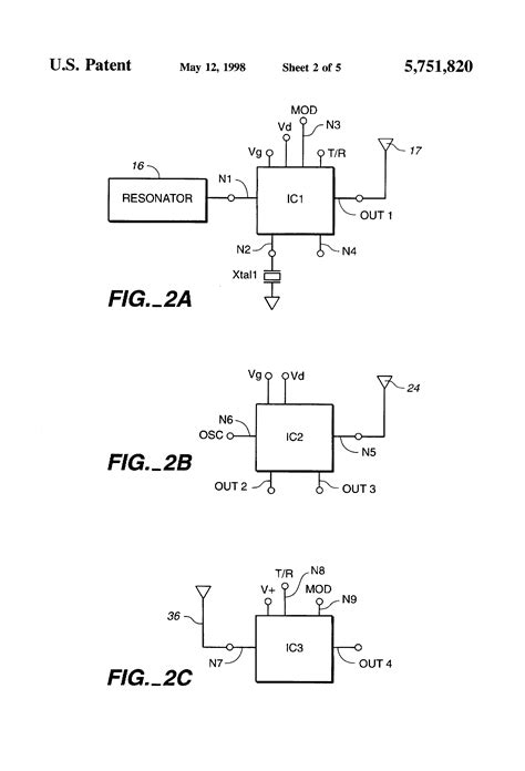 integrated circuits for wireless communication patent us5751820 integrated circuit design for a personal use wireless communication system
