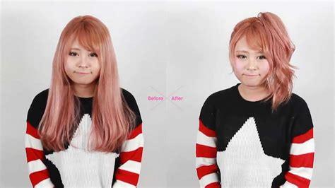 brit pop hair style korean hairstyle voluminous ponytail hair tutorial 셀프