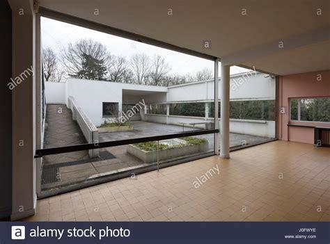 Villa Savoye Innen by View From Living Room To The Hanging Garden Villa Savoye