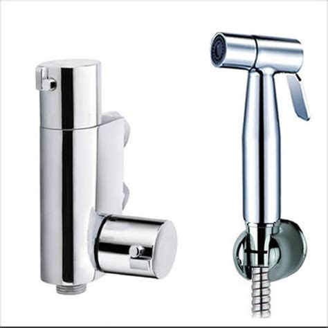 kit2600 thermostatic controllable warm water bidet shower kit - Bidet Kit