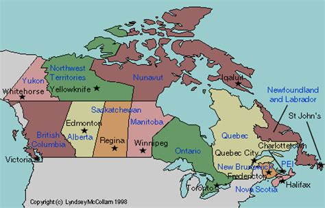 provinces and capitals of canada map map of canada with provincial capitals labeled teaching