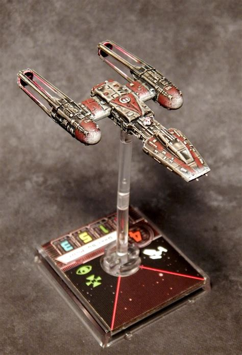 Painting X Wing Miniatures by X Wing Miniature Y Wing Repaint Recherche