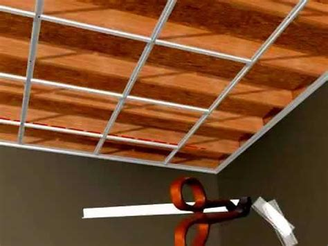 Ceiling Tile Grid System by Ceilingmax Surface Mount Ceiling Grid Installation