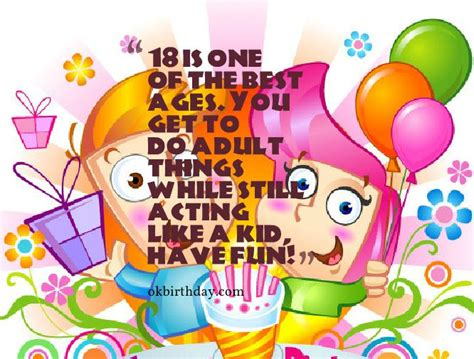 18 Year Birthday Quotes What S The Use Of Turning Eighteen Birthday Wishes Quotes