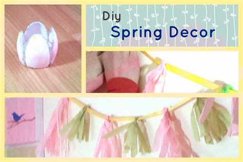 spring diys diy spring decor cute spring projects youtube