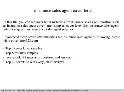 insurance agent cover letter insurance agent cover letter collection