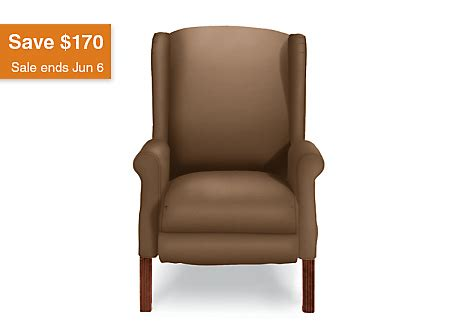 la z boy wingback recliner ferguson high leg recliner