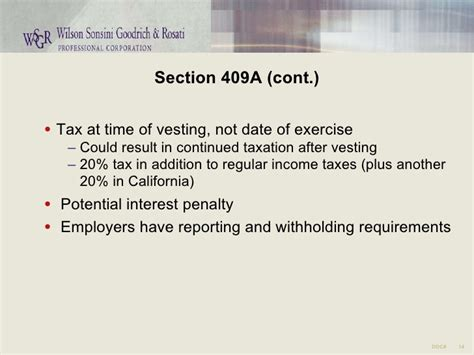 section 409a deferred compensation section 409a regulations 28 images ppt non qualified
