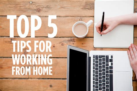 top 5 tips for working from home alexandra